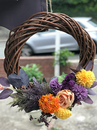 Autumn Seasonal Wreath: 3-7 day lead time