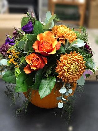 Autumn Pumpkin arrangement