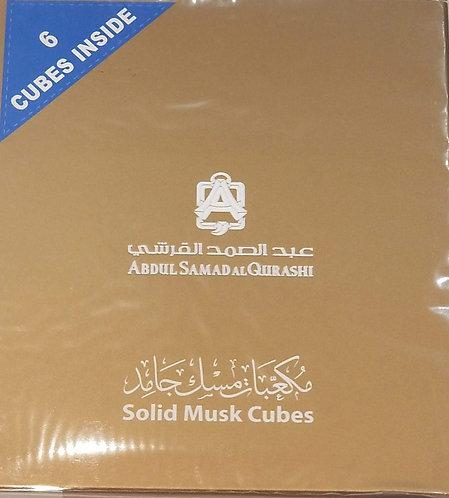 Solid Musk Cubes - مكعبات مسك جامد من عبدالصمد القرشي