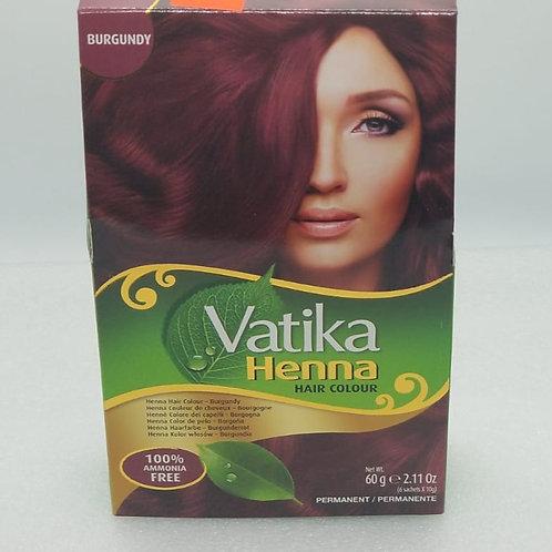 Vatika Burgundy Hair color