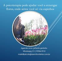 Psicóloga para Crianças, adultos, casais ❖Psicologa Vila Mariana SP