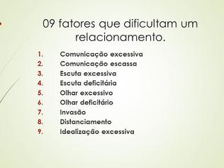 09 fatores que dificultam um relacionamento