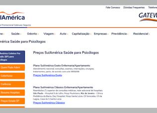 Psicólogo Sul América Vila Mariana