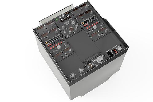737 Pedestal Panel CAD Design