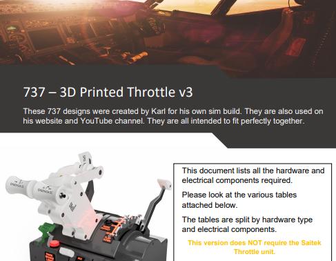 737 Throttle V3 new guide