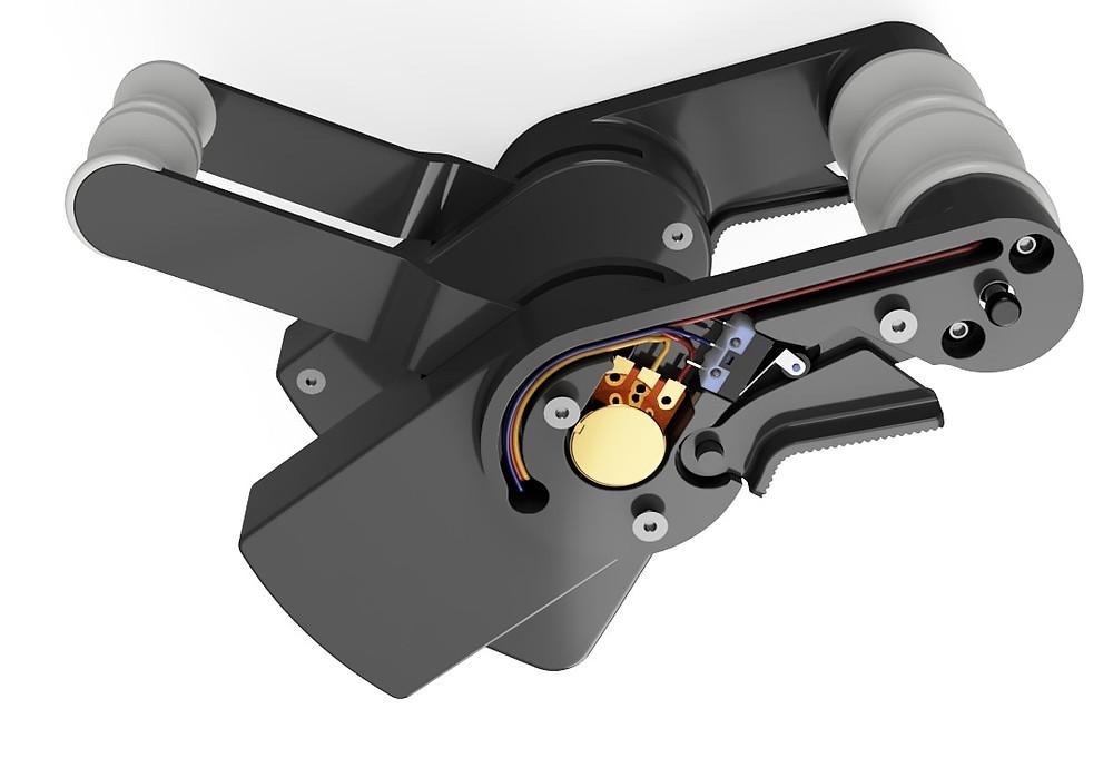 757 Throttle Handles, 3d printed