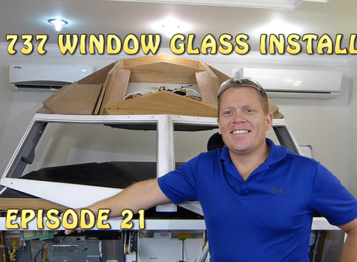 Installing the Glass in the 737 Cockpit!