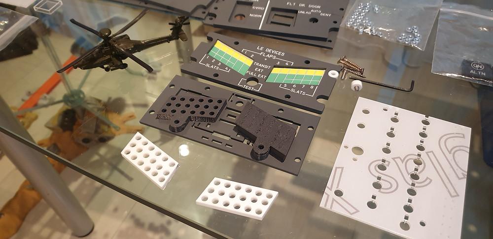 737 Flaps & Slats 3d printed parts
