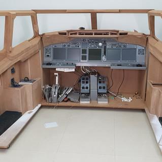 737 DIY Sim build Cockpit
