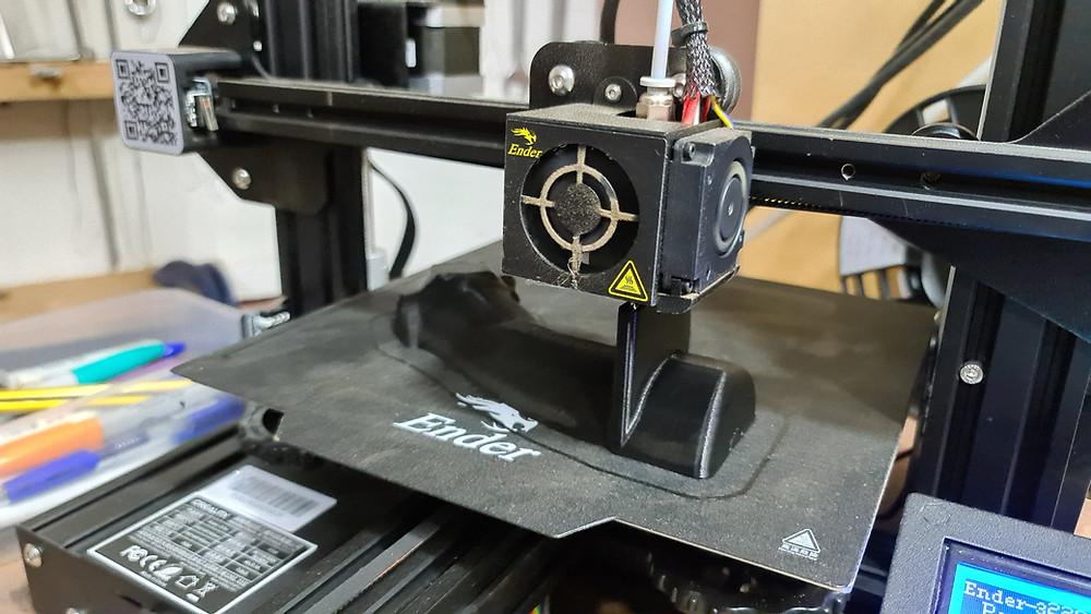 3d Printing Bell 212 cyclic grip
