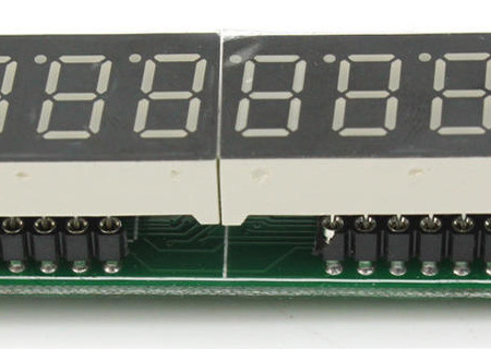8 Digit Displays