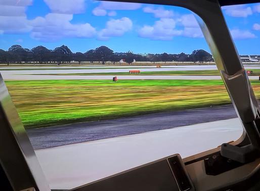 We have true 737 cockpit visuals!