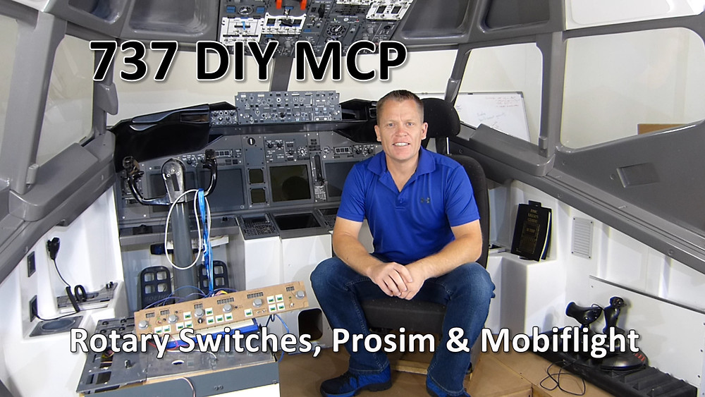 In this mini series episode, we look at building a DIY MCP for under £38.00. This episode concentrates on installing and programming the 12 Position rotary switch with MobiFlight and Prosim.