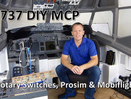 737 DIY MCP - Rotary Switch Video