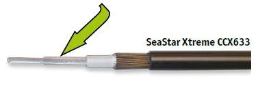 Fernbedienzug Seastar Extreme CCX633