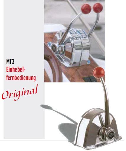 Morse MT3 Einhebelfernbedienung