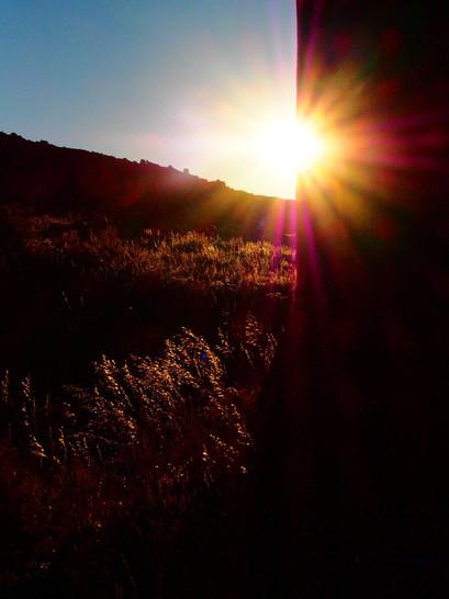 Sunset on Horse Creek Ranch