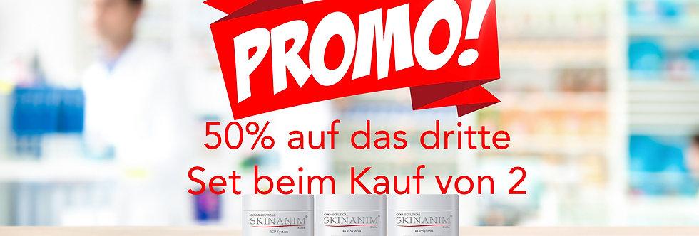 Promo Bundle Skinanim 3 mit 50% Rabbat auf das Dritte Set