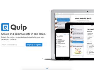 App of the Month: Quip