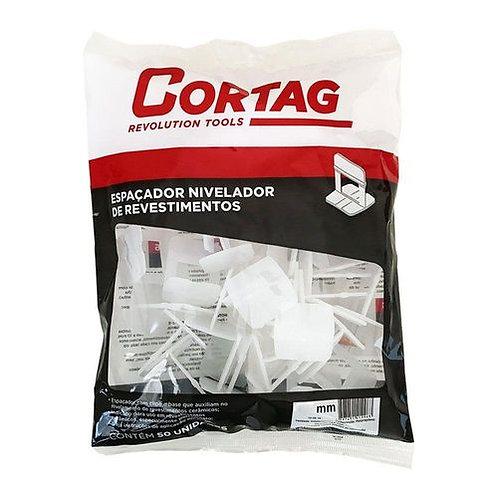 Espaçador para Pisos Branco 1mm Cortag