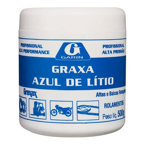 Graxa Azul de Lítio 500g Garin