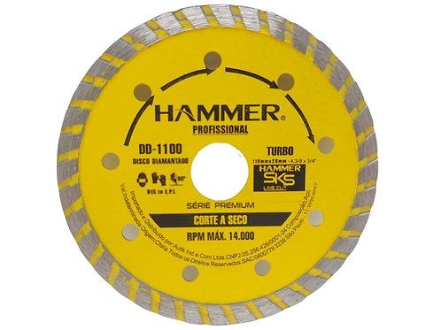 "Disco Diamantado - Turbo 4"" Hammer"