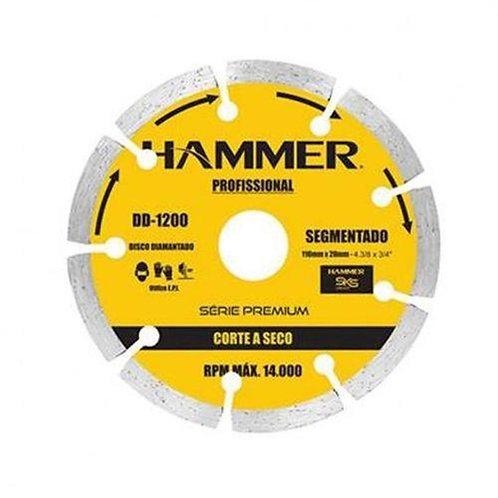 "Disco Diamantado - Segmentado 4"" Hammer"