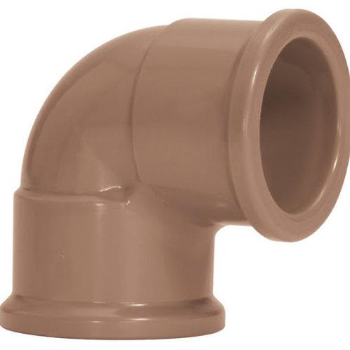 Cotovelo PVC 25mm Amanco