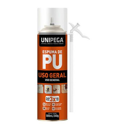Espuma de PU Unipega 500ml