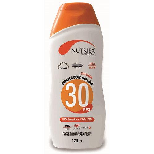 Protetor Solar 30FPS Nutriex 120ml
