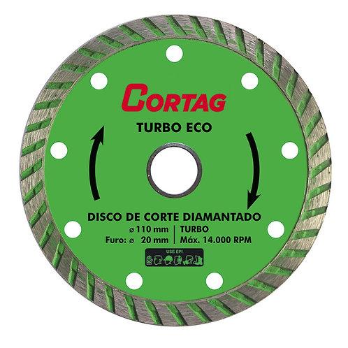 Disco Diamantado - Turbo Eco Cortag