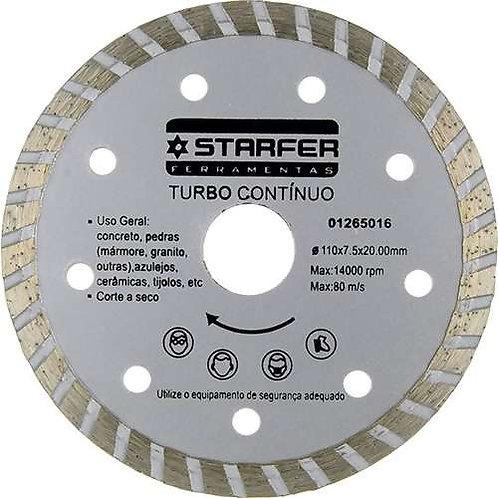 Disco Diamantado - Turbo Contínuo Starfer