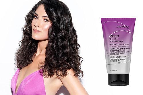 Zero Heat for Thick Hair