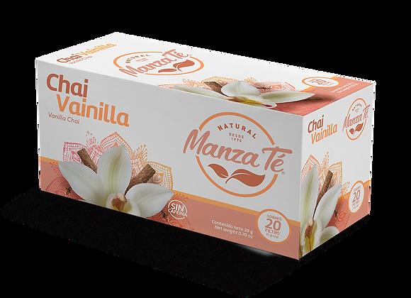 Manza té -  Chai Vainilla