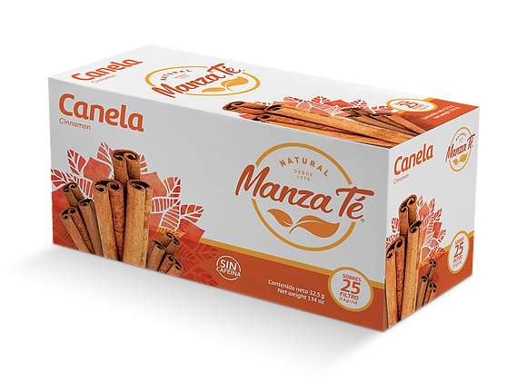 Manza té -  Canela