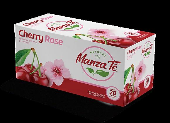Manza té - Té verde Cherry Rose