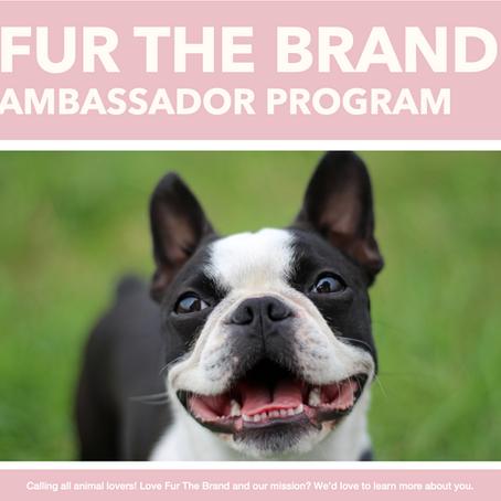 Fur The Brand's Ambassador Program