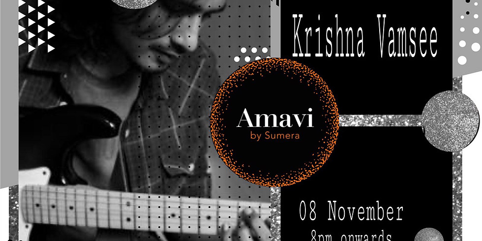 Live Music by Krishna Vamsee