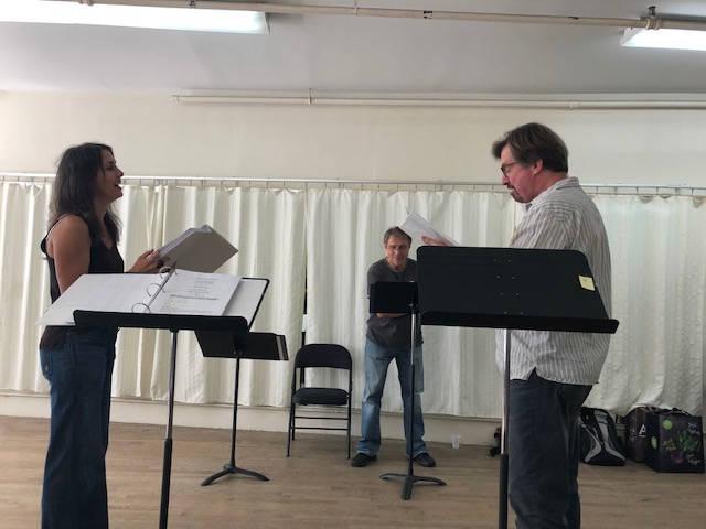A Scene Rehearses