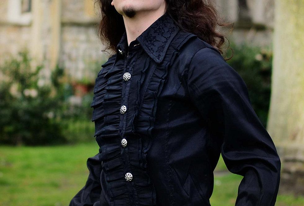 Gothic Classic Men's Dress Shirt