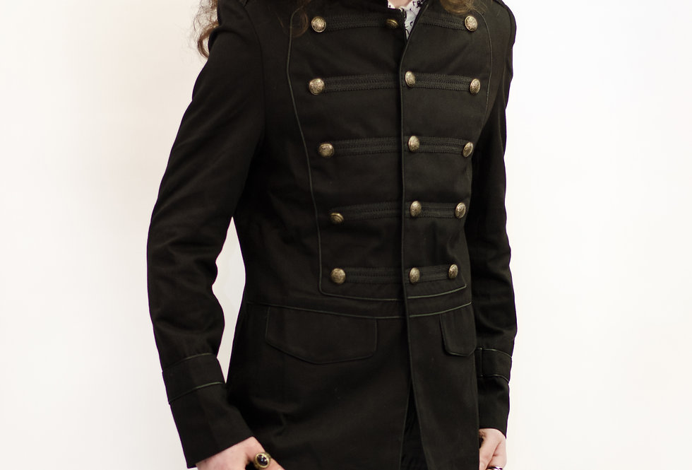 Gothic Steampunk Classic Military Jacket
