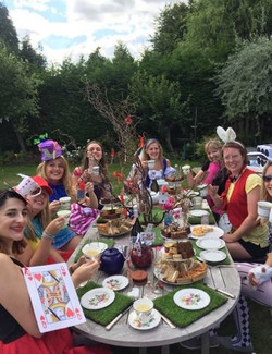 The mad hatters afternoon tea