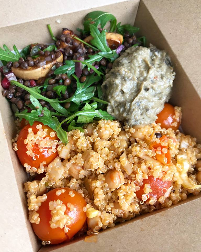 Quinoa salad box