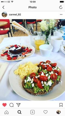 Breakfast cafe