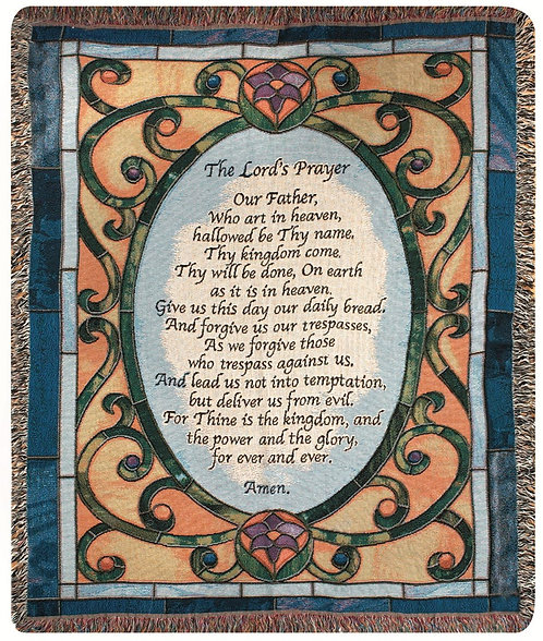 Lord's Prayer Stained Glass     1120-068