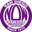 San Diego National Organization for Women (NOW) logo