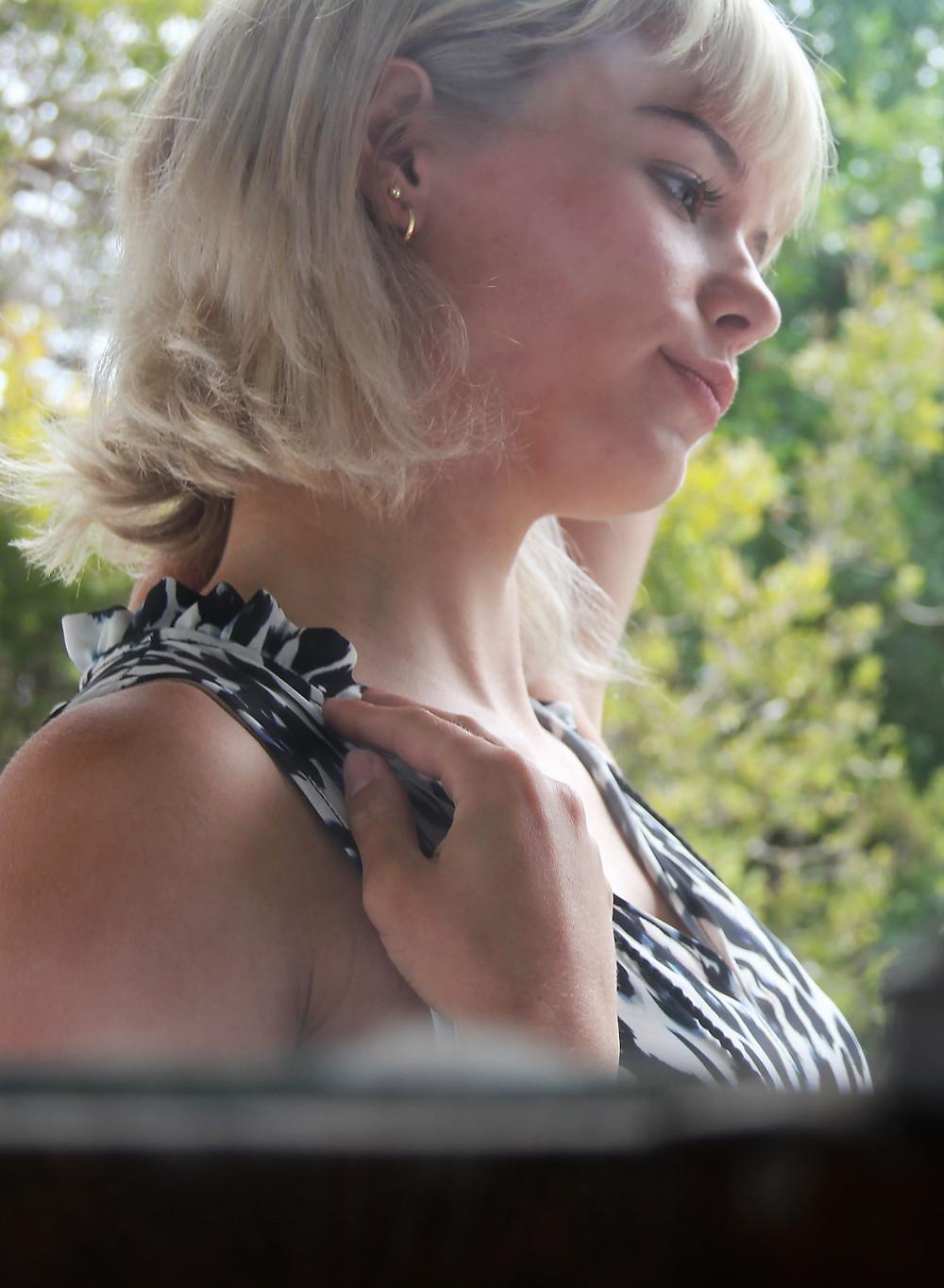 Summer Maxi Dress, Dress, women's fashion, trans seasonal fashion, dress