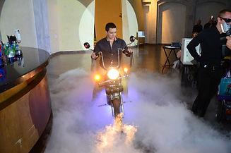 כניסת אופנוע
