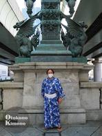 男の着物ストリートスナップin日本橋 9/9
