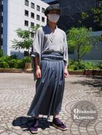 男の着物ストリートスナップin銀座 6/7